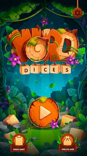 Word Dices. Word Puzzle Game. Word Search Game.  screenshots 4