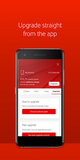 My Vodafone android2mod screenshots 4