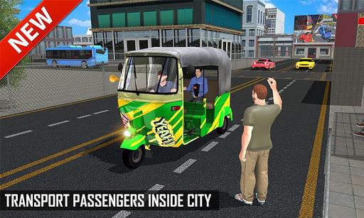 Tuk Tuk Auto Rickshaw Offroad Driving Games 2020 android2mod screenshots 1