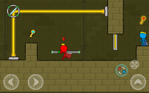 Red and Blue Stickman : Animation Parkour 1.0.6 screenshots 16
