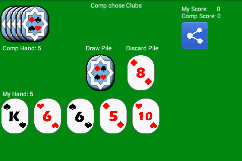 Crazy Eights Fun For PC Windows (7, 8, 10, 10X) & Mac Computer Image Number- 7