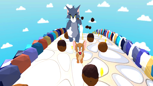Code Triche Tom Cat and Jerry Mouse and friends Endless Run (Astuce) APK MOD screenshots 5