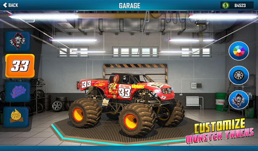 Monster Truck Mega Ramp Stunts Extreme Stunt Games screenshots 12