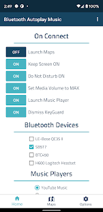 Bluetooth Autoplay Music Screenshot