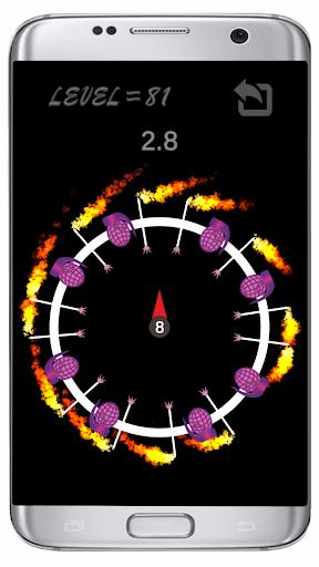 Throw Pin : Free Fire Game  screenshots 13