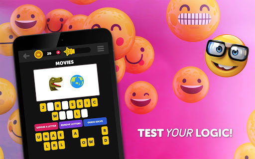 Guess The Emoji - Trivia and Guessing Game! 9.52 screenshots 16