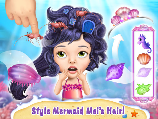 Sweet Baby Girl Mermaid Life - Magical Ocean World apkmr screenshots 14