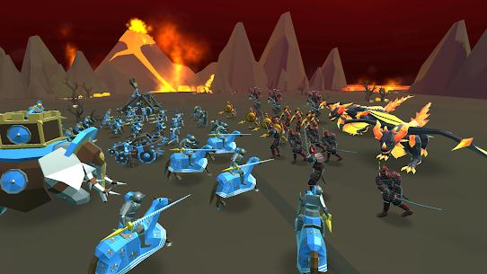 Baixe o Mod Apk do Epic Battle Simulator 2 4