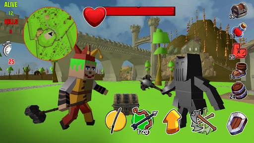 Code Triche Lord Hau!- Medival Pixel Battle Royale apk mod screenshots 1