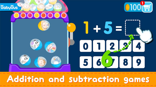 Little Panda Math Genius - Education Game For Kids 8.48.00.01 Screenshots 6