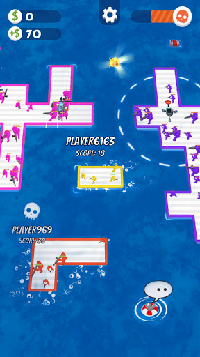 War of Rafts: Crazy Sea Battle  screenshots 7