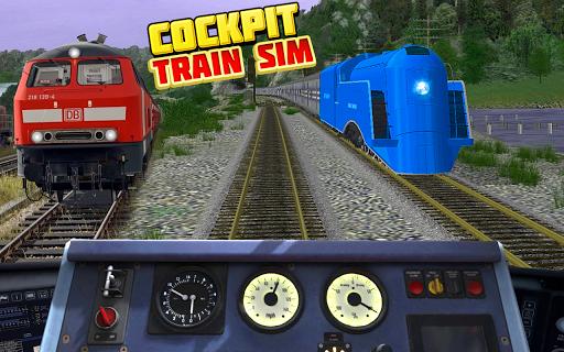 Cockpit Train Simulator apkpoly screenshots 12