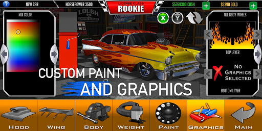 Door Slammers 2 Drag Racing 310123 screenshots 3