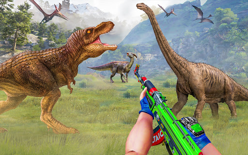 Wild Dinosaur Hunting Games 1.32 Screenshots 13