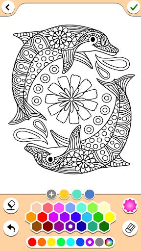 Mandala Coloring Pages 16.2.4 screenshots 1