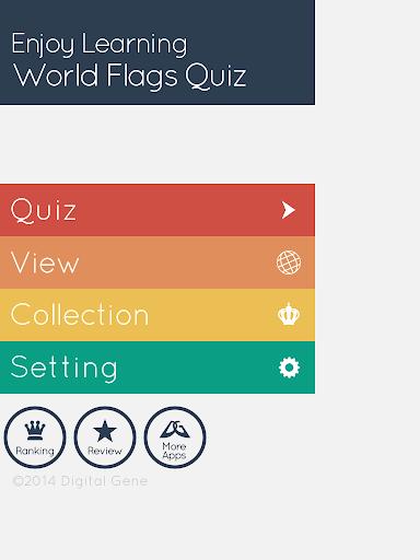 Enjoy Learning World Flags Quiz  screenshots 6