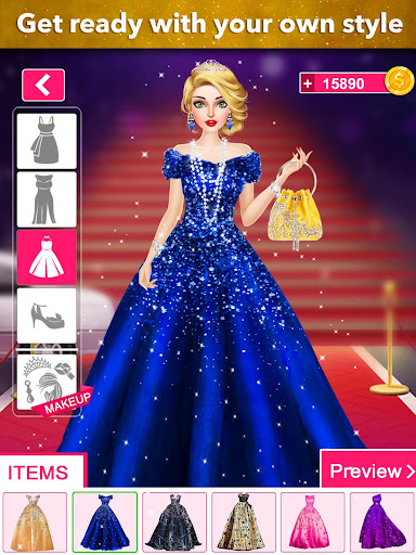 Model Fashion Red Carpet: Dress Up Game For Girls 0.4 screenshots 11