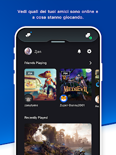 PlayStation App Screenshot