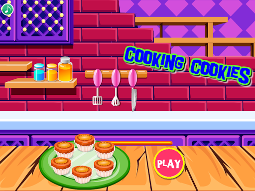cooking cookies : games for girls screenshot 1