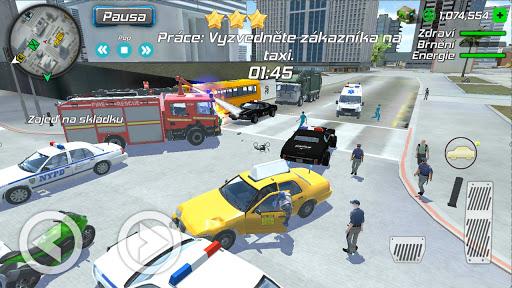 Grand Mobile Hero : Gangster Crime Legend apkdebit screenshots 3