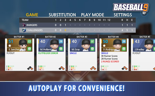 BASEBALL 9 apkdebit screenshots 18