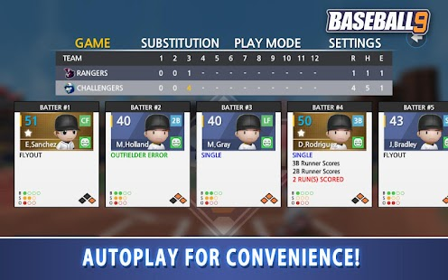 BASEBALL 9 Screenshot