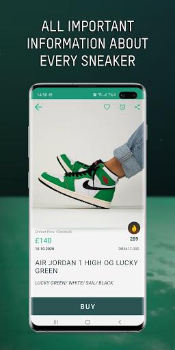 Grailify - Sneaker Release Calendar  Screenshots 2