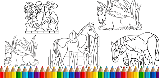 Horse Coloring Book - Apps on Google Play