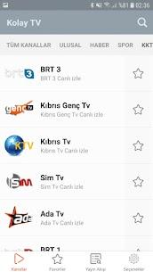 Kolay Tv – Canlı Tv Seyret Apk Son Sürüm 2021 4