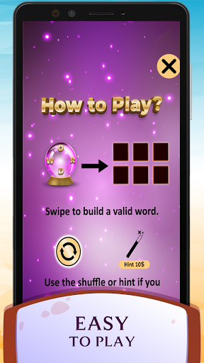 Word Wizard Puzzle - Connect Letters 4.1.7 screenshots 2