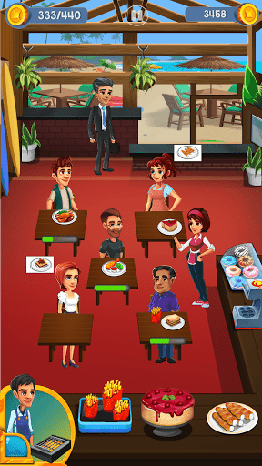 Cooking Cafe - Food Chef 3.4 screenshots 1