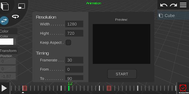 Prisma3D – 3D Modeling, Animation, Rendering 4