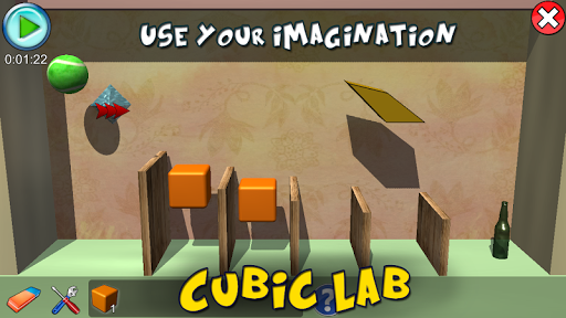 cubic lab 3d: puzzle pieces & physics jigsaw screenshot 2