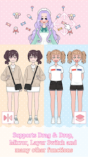 Lily Diary : Dress Up Game Screenshot