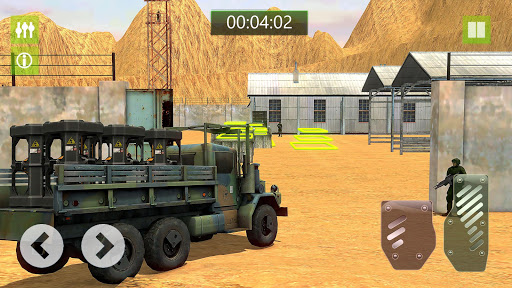 military truck simulator game 3d: cargo transport screenshot 3