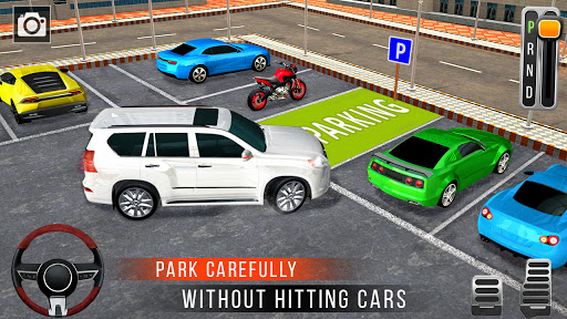 Real Prado Car Parking Games 3D: Driving Fun Games modavailable screenshots 15