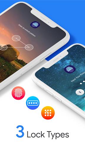 App Lock Fingerprint Password, Lock Screen Pattern android2mod screenshots 2