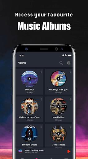 Music Player - Mp4 & MP3 Player, Video player apktram screenshots 4