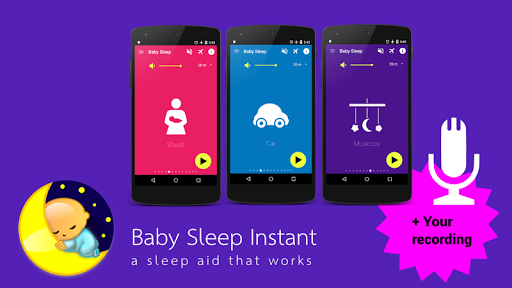 Baby Sleep ud83cudf7c White noise lullabies for newborns 3.5 Screenshots 10