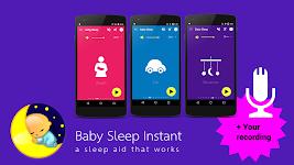 screenshot of Baby Sleep 🍼 White noise lullabies for newborns