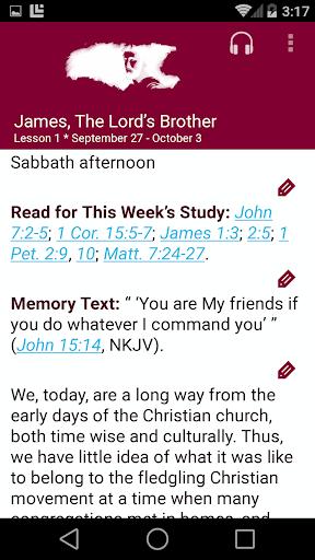 SDA Sabbath School Quarterly  screenshots 1