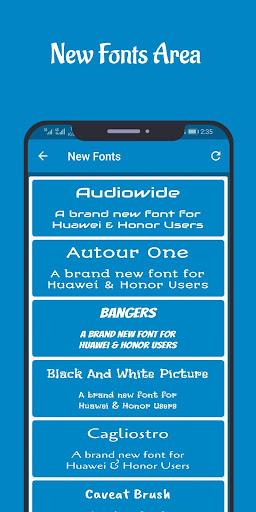 Fonts for Huawei Emui 4.4 Screenshots 4