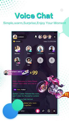 hala voice chat community screenshot 2