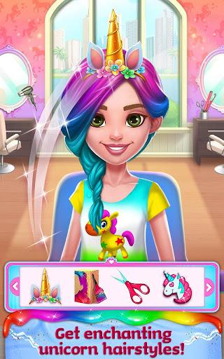 Unicorn Food - Rainbow Glitter Food & Fashion apkpoly screenshots 4