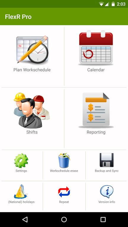 Shift Work Calendar (FlexR Pro)  poster 0