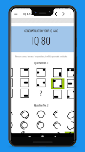 IQ Test - Free For All Screenshot