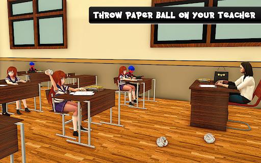 YUMI Girl High School Simulator - Anime Simulator 1.0 screenshots 15