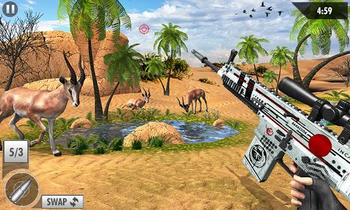 Wild Deer Hunt 2021: Animal Shooting Games apktram screenshots 3