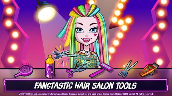 Monster Highu2122 Beauty Shop: Fangtastic Fashion Game 4.1.14 Screenshots 9