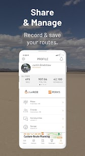 REVER: GPS, Navigation, Discover, Maps & Planner Screenshot